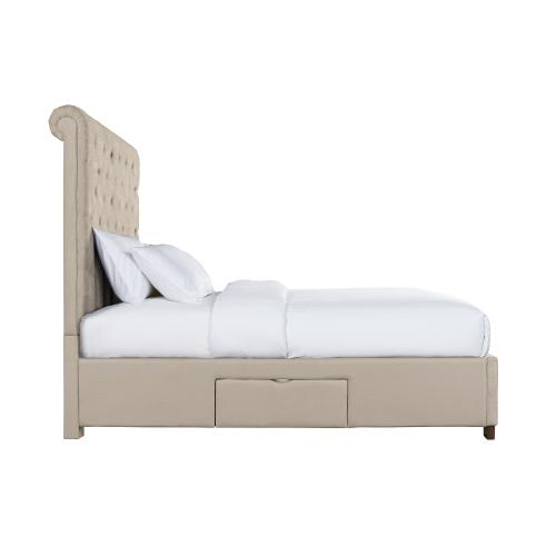 Waldorf Queen Upholstered Storage Bed