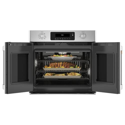 """Café™ 30"""" Smart French-Door Single Wall Oven with Convection"""