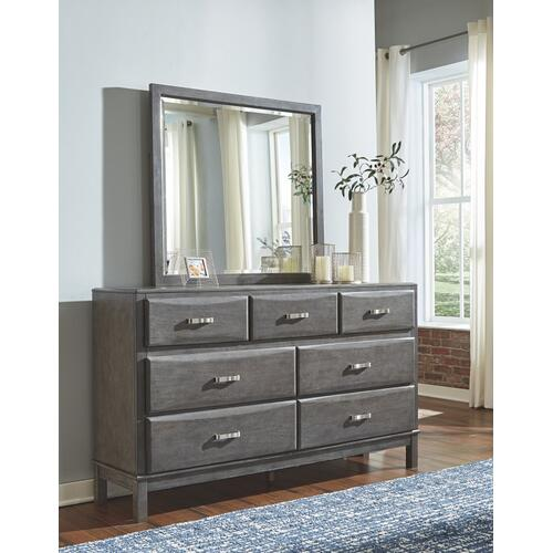 Caitbrook Dresser and Mirror