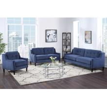 Mellon Blue Sofa, Loveseat & Chair, U1652