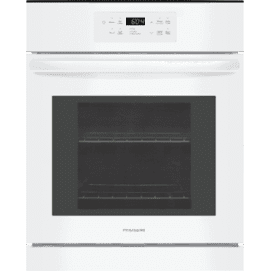 24'' Single Electric Wall Oven - WHITE
