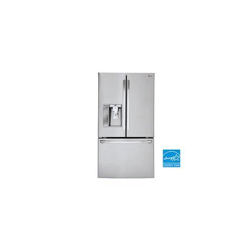 LG - 30 cu. ft. Super Capacity 3-Door French Door Refrigerator