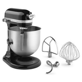 NSF Certified® Commercial Series 8-Qt Bowl Lift Stand Mixer - Black