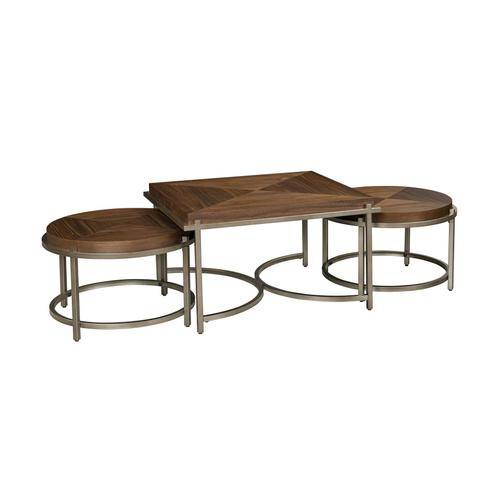 70041 West Lake Cocktail Table and Round Nesting Table Set
