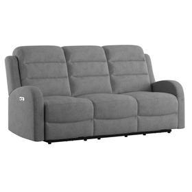 Dual Power Sofa Recliner and Headrest