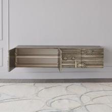 Abstract Block Cabinet-Nickel