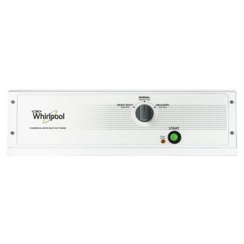 "Whirlpool CGM2743BQ  27"" Mechanical Metered Base Gas Dryer"