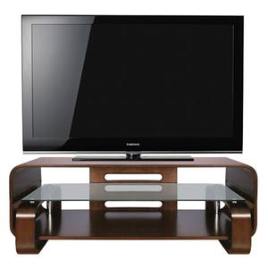 Espresso Finish Bent Wood Audio/Video System