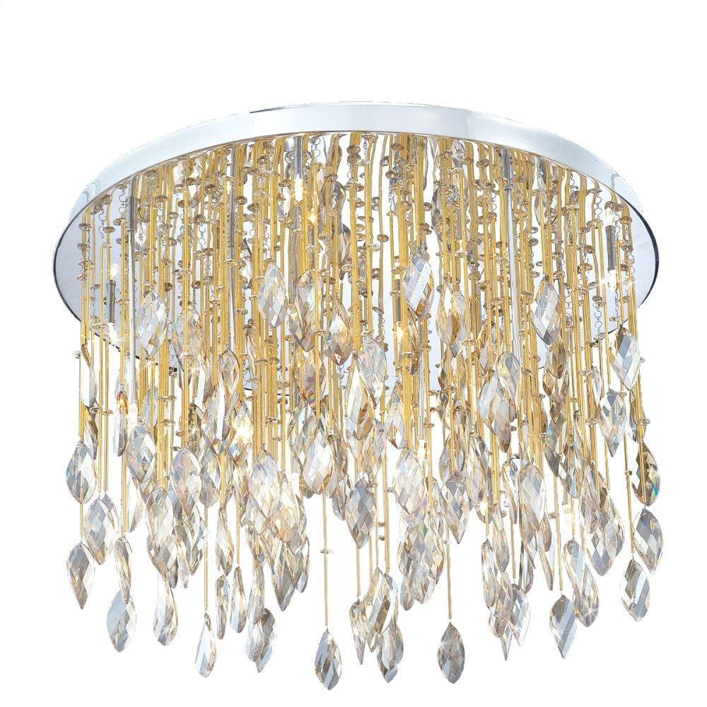 """See Details - 27"""" CEILING MOUNT - Chrome"""