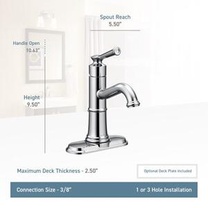 Belfield oil rubbed bronze one-handle bathroom faucet