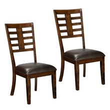 Bella 2-Pack Side Chairs, Cherry Brown