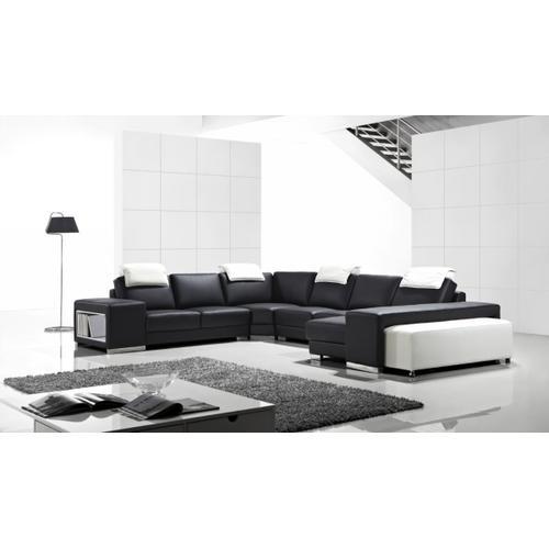 Divani Casa T1000 - Modern Leather Sectional Sofa
