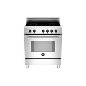 Bertazzoni30 4-Induction Zones, Electric Self-Clean Oven Stainless