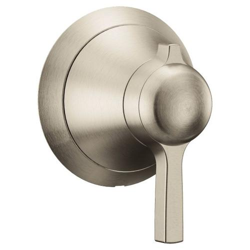 Flara brushed nickel volume control
