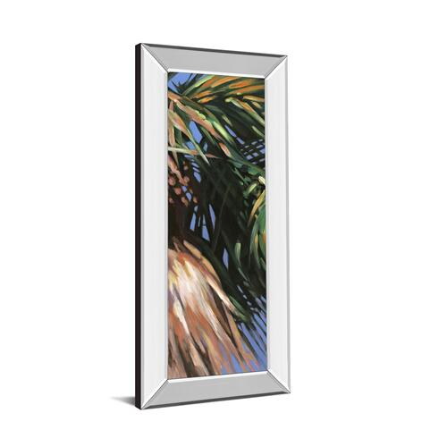 """Wild Palm Il"" By Suzanne Wilkins Mirror Framed Print Wall Art"