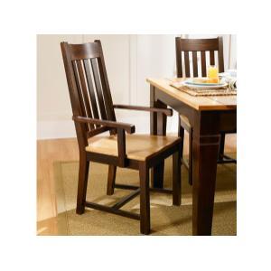 A America - Two-tone Slat Side Chair