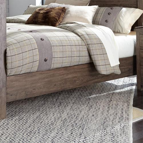 Cali King Poster Bed Rails