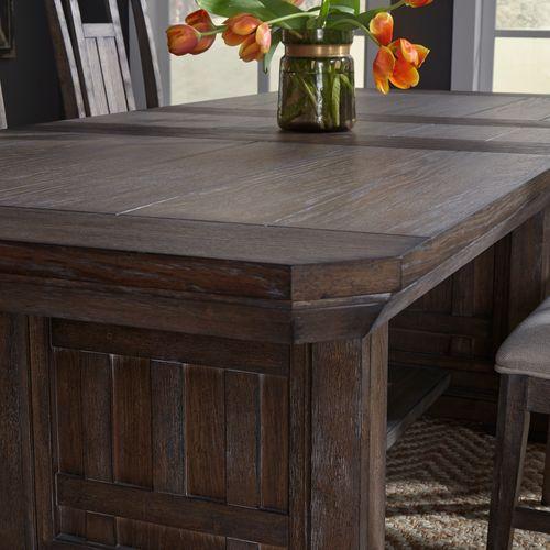 Liberty Furniture Industries - 5 Piece Trestle Table Set