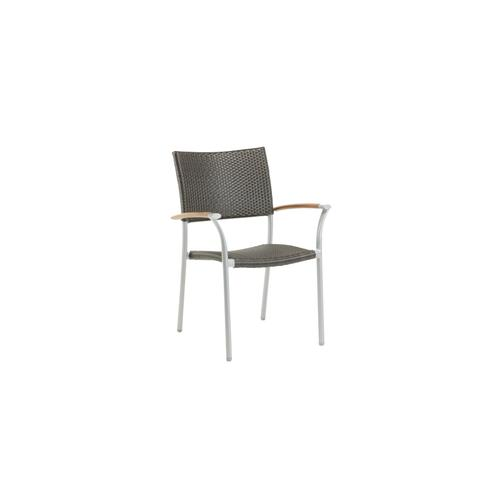 Ratana - New Roma Stacking Arm Chair w/Durawood Armrest