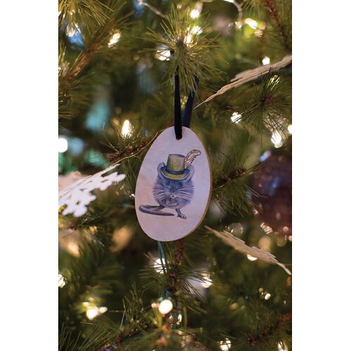 "3.5"" E+E Framily Portrait Ornament (Mr. Louie Mouse Option)"