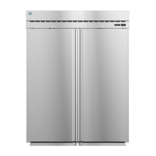 Hoshizaki - RN2A-FS, Refrigerator, Two Section Roll-In Upright, Full Stainless Doors with Lock