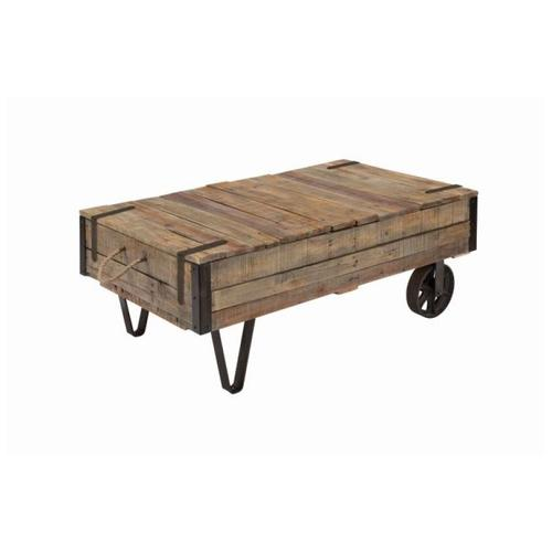 Industral Cart Cocktail Table