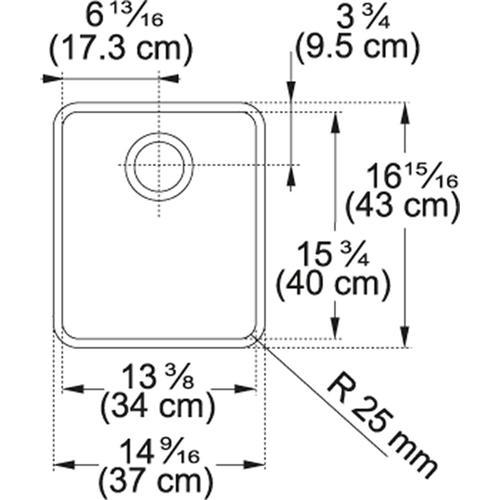 Kubus KBX110-13 Stainless Steel