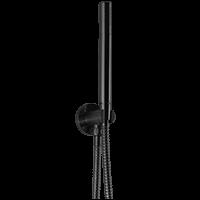 Flexible Hose Shower Kit, Black Product Image