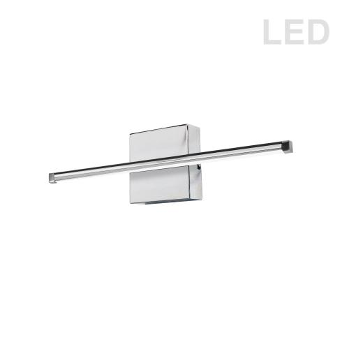 19w Wall Sconce PC W/wh Acrylic Diffuser