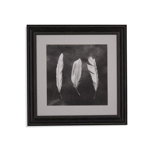 Bassett Mirror Company - Cyanotype Feathers II