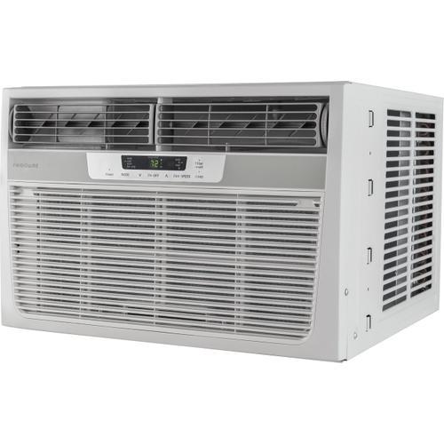 Frigidaire - Frigidaire 8,000 BTU Window-Mounted Room Air Conditioner with Supplemental Heat