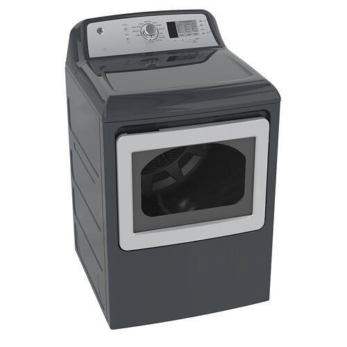 GE 7.4 Cu.Ft. Top Load Energy Star Electric Dryer Diamond Grey GTD65EBMKDG