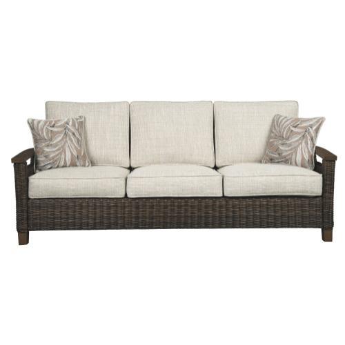 Signature Design By Ashley - Paradise Trail Sofa With Cushion