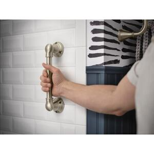 "Banbury chrome 9"" designer hand grip"
