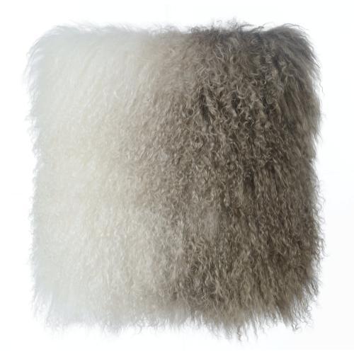 Product Image - Tibetan Sheep Pillow White to Brown