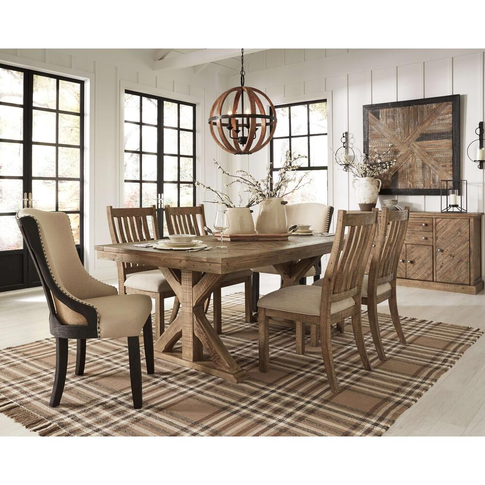 Product Image - Dining Table and 6 Chairs With Storage