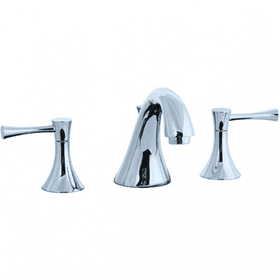 Brookhaven - 3 Hole Widespread Lavatory Faucet - Polished Nickel