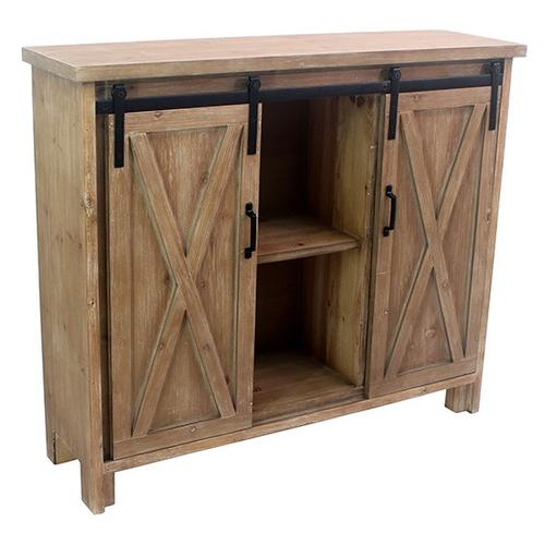"""Crestview Collections - 41.75X11.75X36.25"""" WOOD CABINET, 1PC PK, 14.5'"""