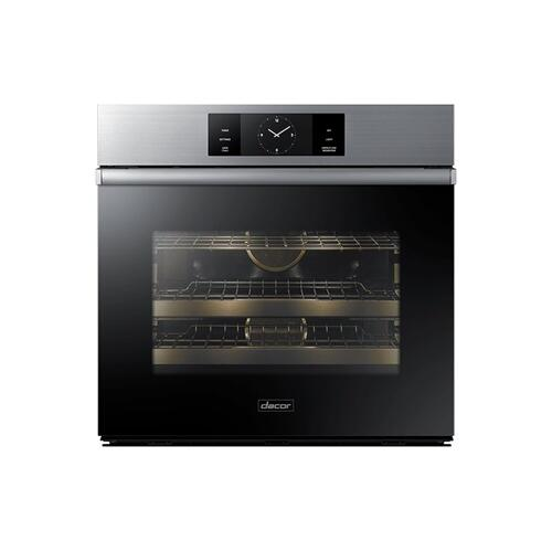 """Dacor DOB30M977SM   30"""" Steam-Assisted Single Wall Oven, Graphite Stainless Steel"""
