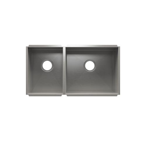 """UrbanEdge® 003649 - undermount stainless steel Kitchen sink , 12"""" × 16"""" × 8""""  18"""" × 16"""" × 10"""""""