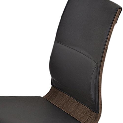 Veneta Side Chair, set of 2 in Walnut