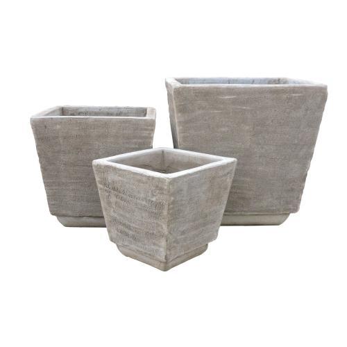 Elvi Square Planter - Set of 3