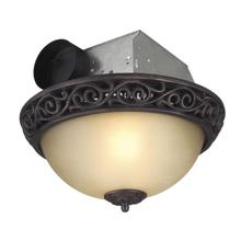 See Details - TFV70L-AIORB - 70 CFM Decorative Exhaust Fan with Light