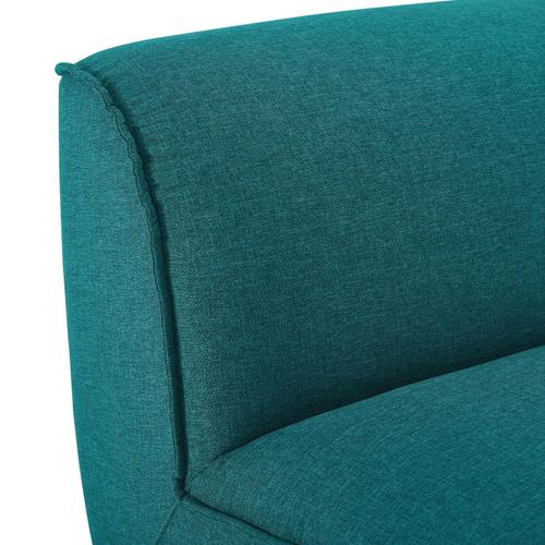 Comprise Armless Chair in Teal