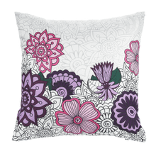 WAMA Pillow - Flower Design