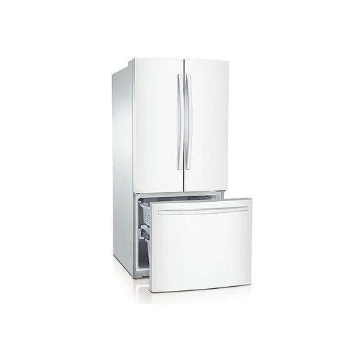 22 cu. ft. French Door Refrigerator in White