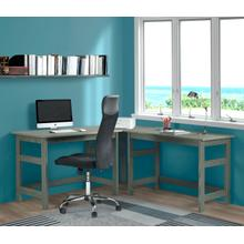 2 Desks With Corner Unit