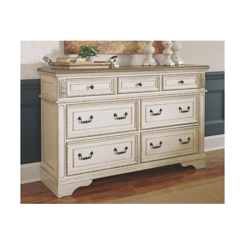 Realyn Dresser Chipped White