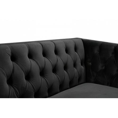 """Michelle Velvet Sofa - 90"""" W x 34"""" D x 30"""" H"""