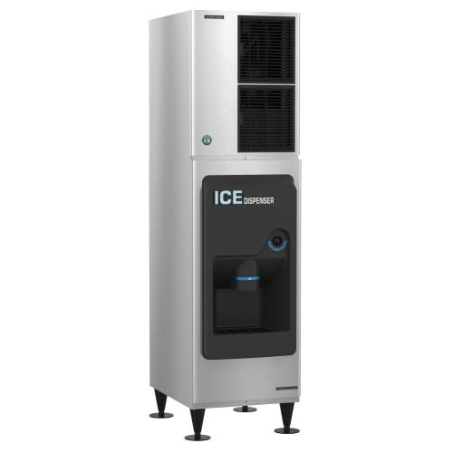 KM-520MAJ, Crescent Cuber Icemaker, Air-cooled